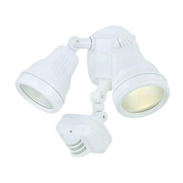 Acclaim Lighting 2-Light Motion Activated Cast Floodlight