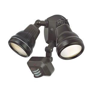 Lumière de sécurité à détection de mouvement, bronze