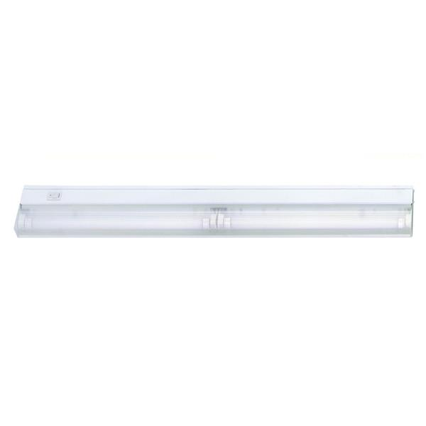Acclaim Lighting 24-in White 2-Light Fluorescent Under Cabinet
