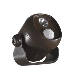 Luminaire sans fil à DEL compact, bronze