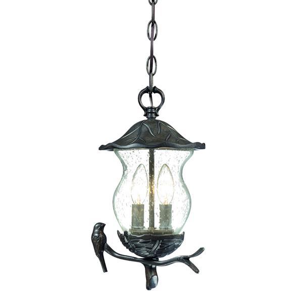 Acclaim Lighting Avian Lantern - 2 Bulbs - Black