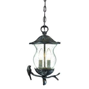 Acclaim Lighting Avian Lantern - 2 Bulbs - Black