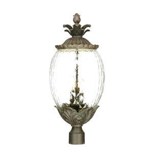 Lanterne extérieure Lanai , 3 ampoules, aluminium, noir
