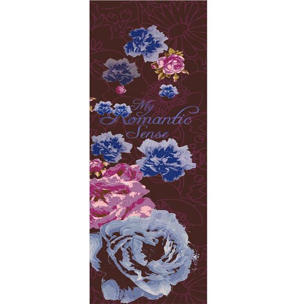 Bande de papier peint, boutton de rose