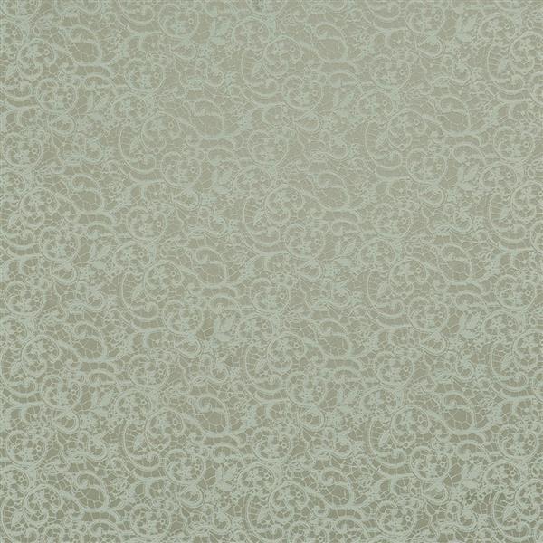 Papier peint damassé dentelle
