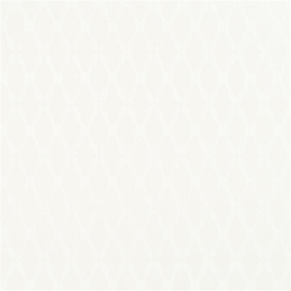 Walls Republic Cream/Off-White Lozenge Geometric Wallpaper 21-in