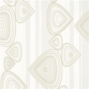 Papier peint géométrique abstrait rayé