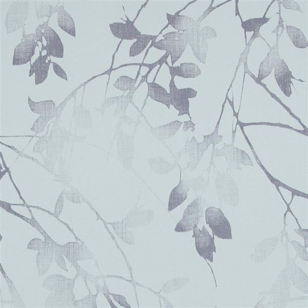 Walls Republic Baby Blue/Navy Luxury Autumn Birch Wallpaper 21-in