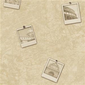 Papier peint, urbain carte de ville