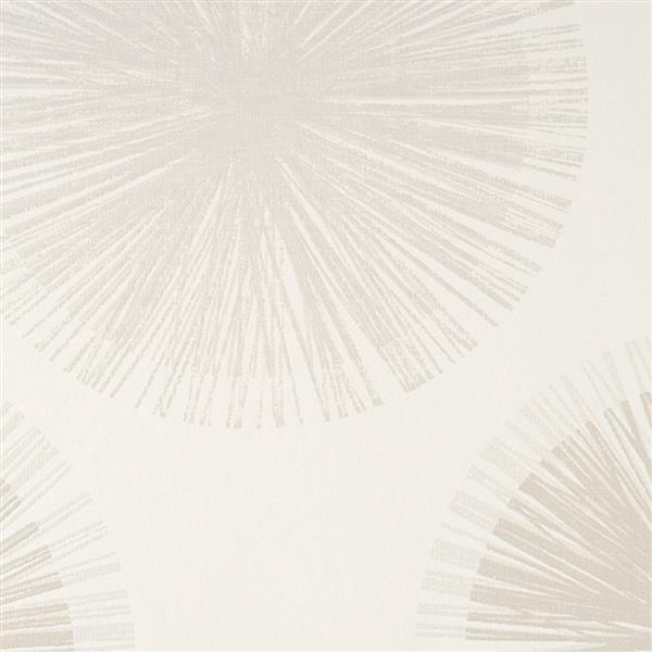 Papier peint médaillon géométrique