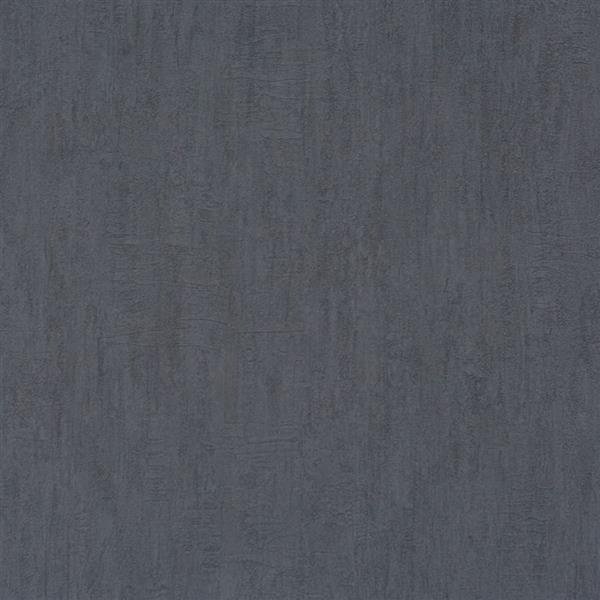 Walls Republic Black Heavy Textural Unpasted Wallpaper
