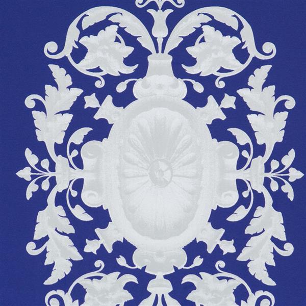 Walls Republic Upscale Pattern 57 sq ft Blue Unpasted Wallpaper