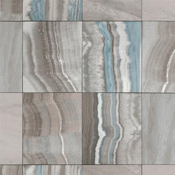 Walls Republic Brown Marbled Tiles Contemporary Wallpaper