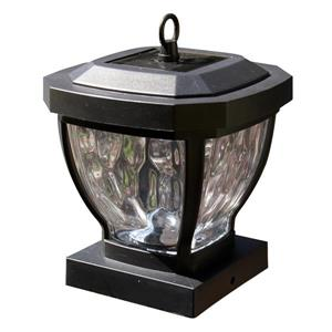 """Capuchon de poteau solaire Manchester, bronze foncé, 4"""" x 4"""""""