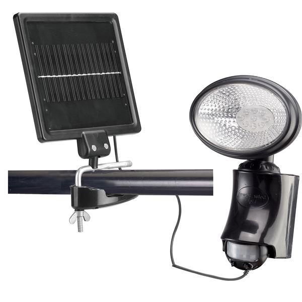 Lampe de sécurité solaire avec capteur de mouvement