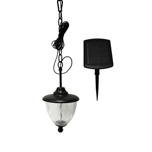 Classy Caps 13-in x 6.5-in Eclipse Outdoor Solar Chandelier
