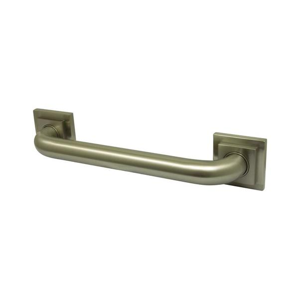 Elements of Design Claremont 30-in Satin Nickel Wall Mount Grab Bar