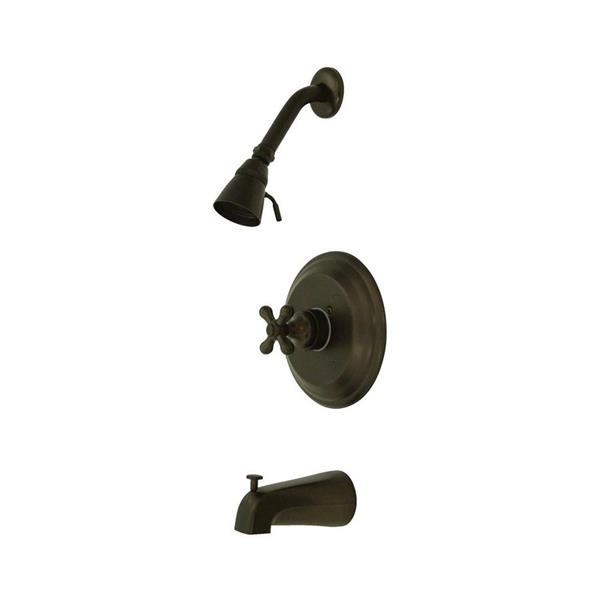 Elements of Design St Louis Oil-Rubbed Bronze 1 Handle Bathtub and Shower Faucet with Valve