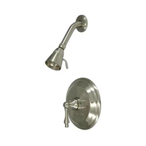Elements of Design St. Louis Satin Nickel 1 Handle Shower Faucet with Valve