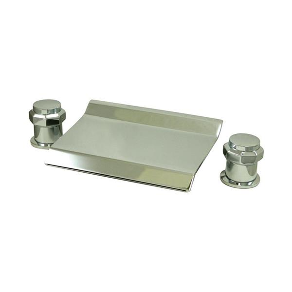 Elements of Design Chrome Free Standing Bathtub Faucet