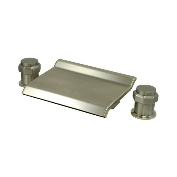 Elements of Design Nickel Freestanding Bathtub Faucet