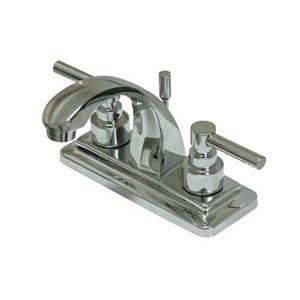 Elements of Design Tampa Chrome 2-Handle 4-in Centerset Bathroom Faucet