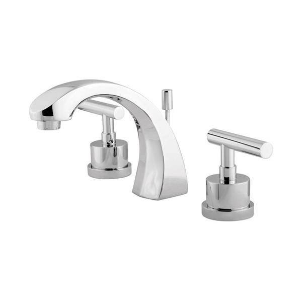 Elements of Design Manhattan Polished Chrome 2-handle Widespread Bathroom Sink Faucet