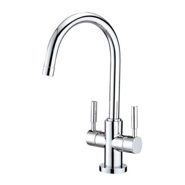 Elements of Design Concord 2 Handle Single Hole Bathroom Faucet