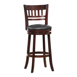 Homelegance Edmond 43-in Dark Cherry Bar Stool