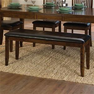 Homelegance Alita Black Dining Bench
