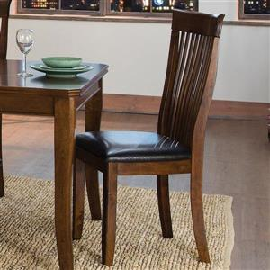Homelegance Alita Traditional Black Side Chairs (Set of 2)