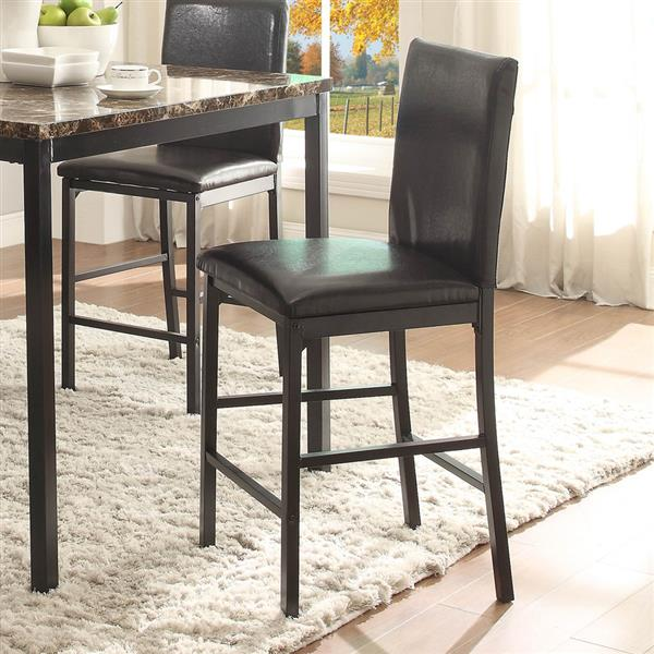 Homelegance Tempe Black Counter Stools (Set of 4)
