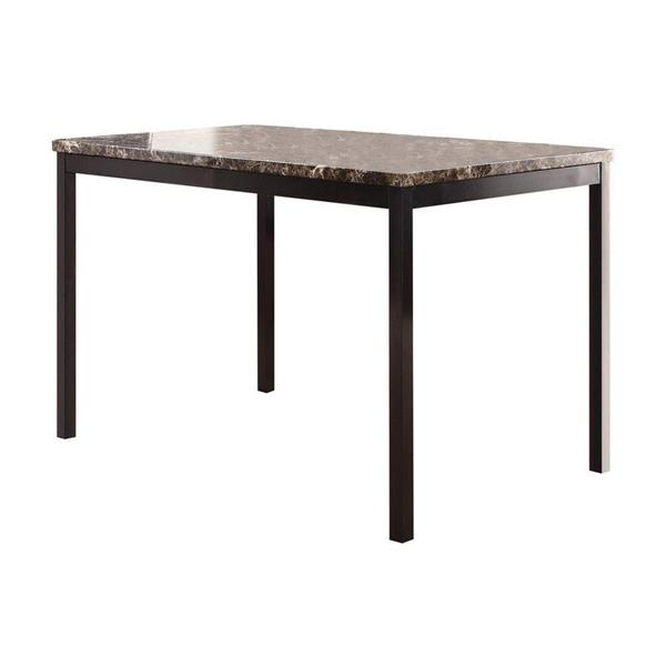 Homelegance Tempe Faux marble Dining Table