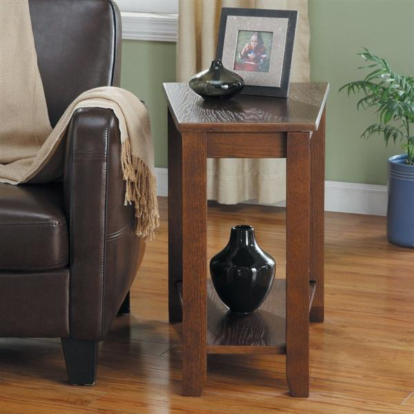 Homelegance Elwell Espresso Composite Casual End Table
