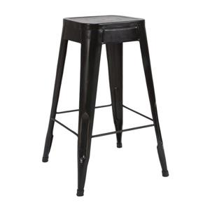 Homelegance Amara Black Bar Stools (Set of 4)