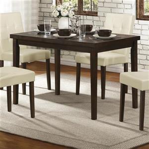 Homelegance Ahmet Espresso Wood Dining Table