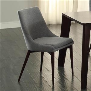 Homelegance Fillmore Contemporary Fillmore Cool Grey Side Chairs (Set of 2)