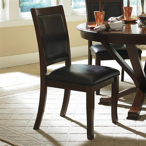 Homelegance Helena Dark Brown Casual Side Chairs (Set of 2)
