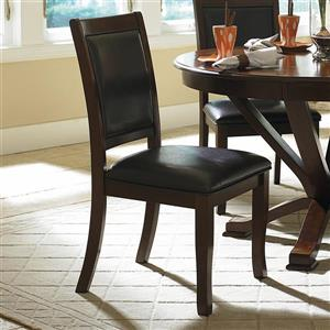 Homelegance Helena Dark Brown Casual Side Chairs (Set of 2)