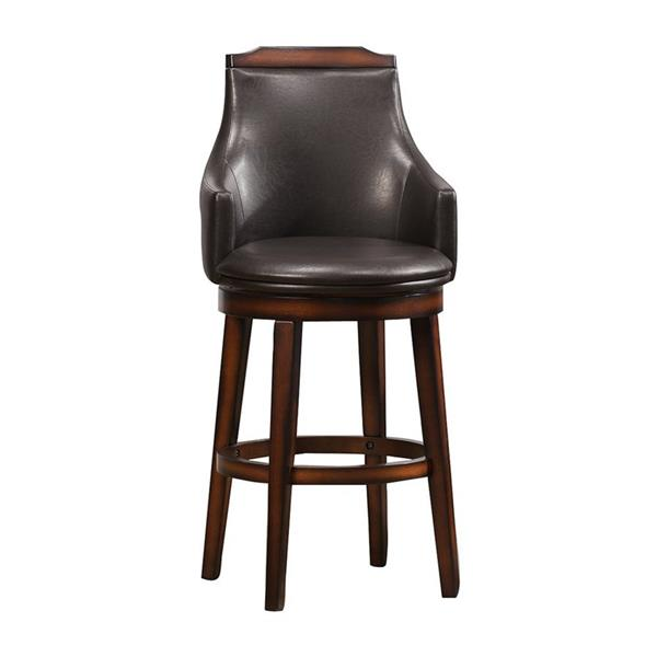 Homelegance Bayshore Rustic Oak Bar Stools (Set of 2)