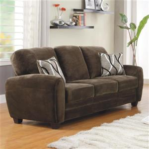 Rubin Casual Chocolate Sofa