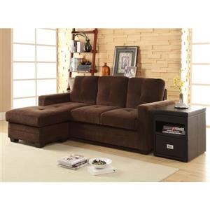 Phelps Casual Chocolate Sectional