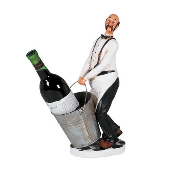 RAM Game Room Products  Chef 1-Bottle Tabletop Wine Rack