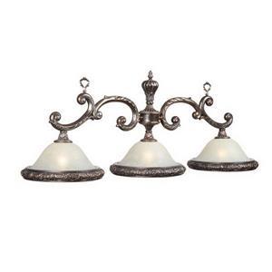 RAM Game Room Products 3-Light Ornamental Billiard Island Light