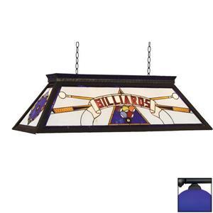 RAM Game Room 4-Light Billiard Pool Table Light Blue