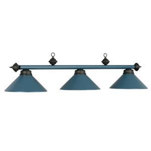 RAM Game Room Products 3-Light Billiards Table Island Light Matte Blue