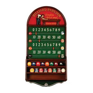 RAM Game Room Products Billiard Parlour Scoreboard and Ball Holder