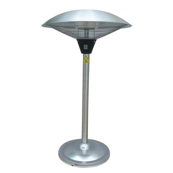 AZ Patio Heater 23-in Silver Stainless Steel  5,118 BTU 120 Volt Electric Patio Heater