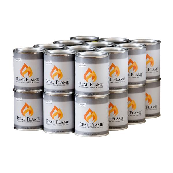 Gel combustible Real Flame, 13 oz, paquet de 24