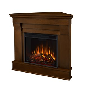Real Flame 40.9-in W Espresso LED Electric Fireplace